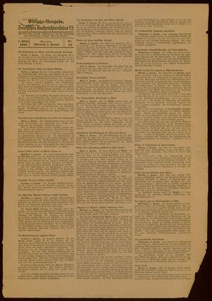 Deutsches Nachrichtenbüro vom 05.01.1938