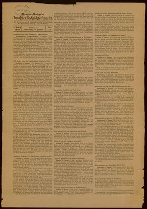 Deutsches Nachrichtenbüro vom 06.01.1938