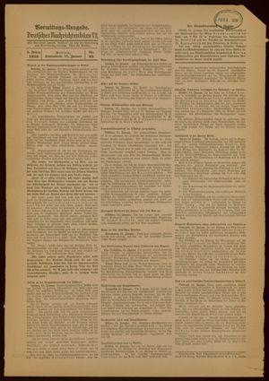Deutsches Nachrichtenbüro vom 15.01.1938
