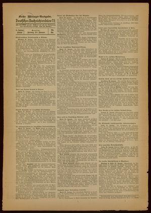 Deutsches Nachrichtenbüro vom 21.01.1938