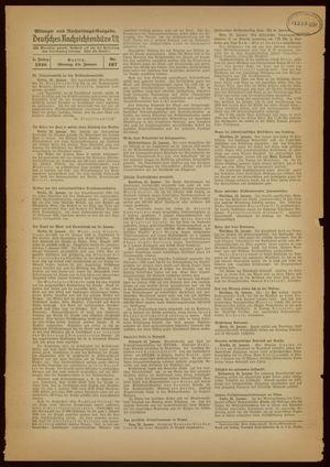 Deutsches Nachrichtenbüro vom 24.01.1938