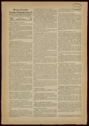 Deutsches Nachrichtenbüro on Feb 2, 1938