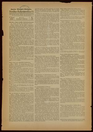 Deutsches Nachrichtenbüro vom 08.02.1938