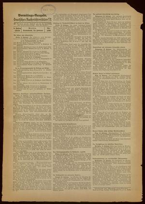 Deutsches Nachrichtenbüro vom 12.02.1938