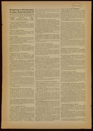 Deutsches Nachrichtenbüro vom 15.02.1938
