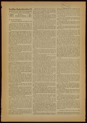 Deutsches Nachrichtenbüro vom 20.02.1938