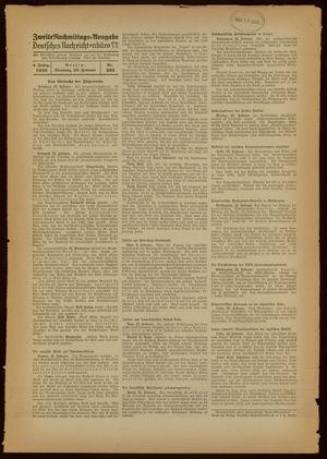 Deutsches Nachrichtenbüro vom 22.02.1938