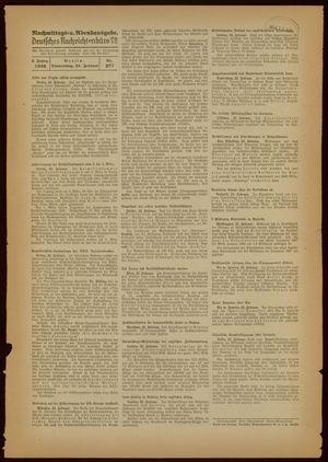 Deutsches Nachrichtenbüro on Feb 24, 1938