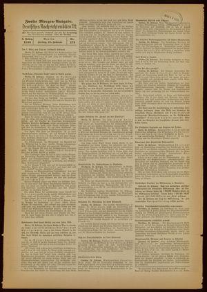 Deutsches Nachrichtenbüro vom 25.02.1938