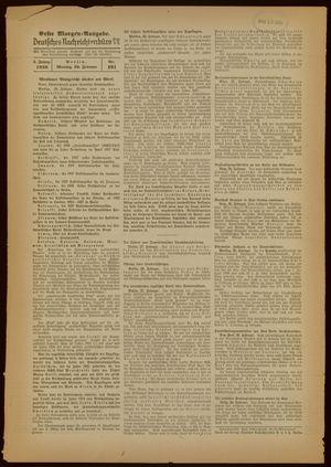 Deutsches Nachrichtenbüro vom 28.02.1938