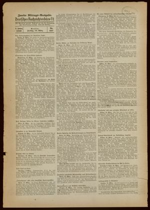 Deutsches Nachrichtenbüro vom 18.03.1938