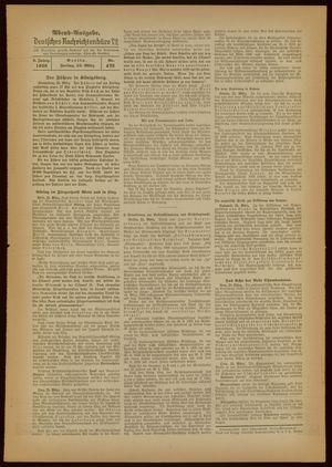 Deutsches Nachrichtenbüro vom 25.03.1938