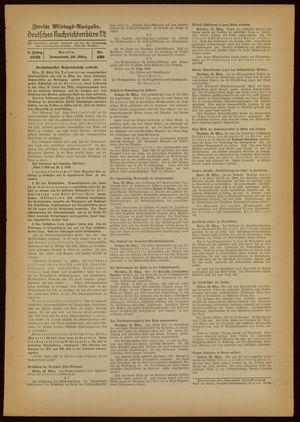 Deutsches Nachrichtenbüro vom 26.03.1938