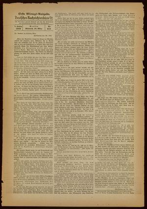 Deutsches Nachrichtenbüro vom 30.03.1938
