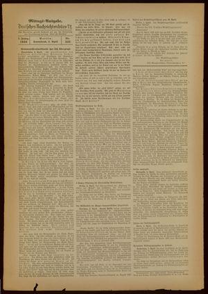 Deutsches Nachrichtenbüro on Apr 2, 1938