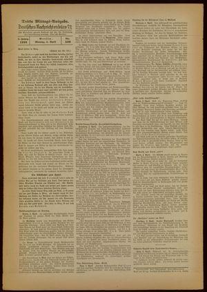 Deutsches Nachrichtenbüro vom 04.04.1938