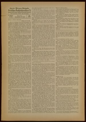 Deutsches Nachrichtenbüro vom 09.04.1938