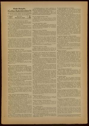 Deutsches Nachrichtenbüro vom 27.04.1938