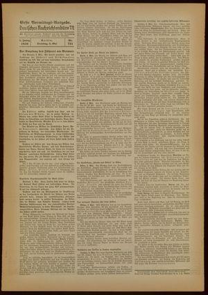 Deutsches Nachrichtenbüro vom 03.05.1938