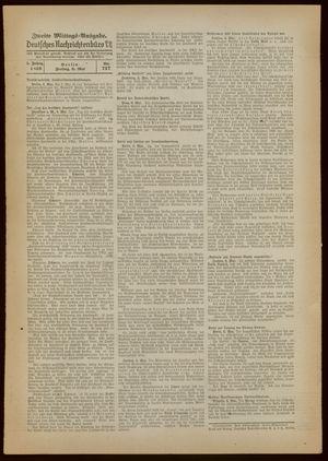 Deutsches Nachrichtenbüro on May 6, 1938