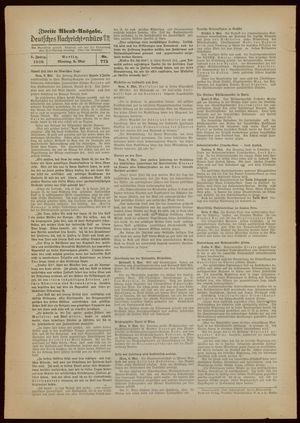 Deutsches Nachrichtenbüro vom 09.05.1938