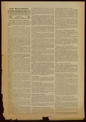 Deutsches Nachrichtenbüro vom 16.05.1938