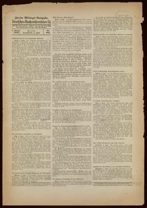 Deutsches Nachrichtenbüro vom 04.06.1938