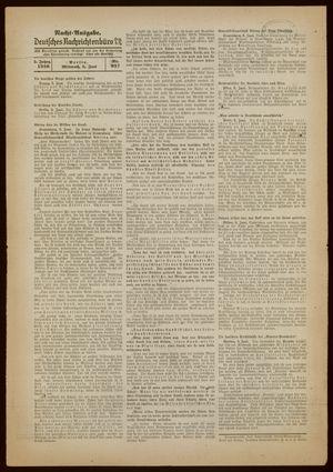 Deutsches Nachrichtenbüro vom 08.06.1938