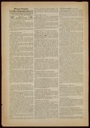 Deutsches Nachrichtenbüro vom 11.06.1938