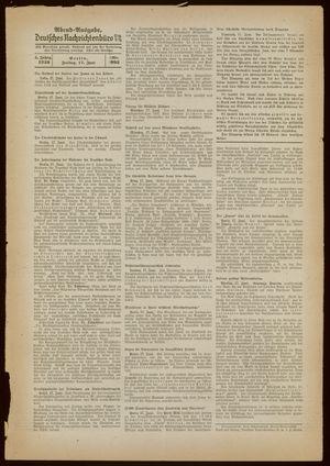 Deutsches Nachrichtenbüro vom 17.06.1938