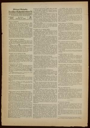 Deutsches Nachrichtenbüro vom 21.06.1938