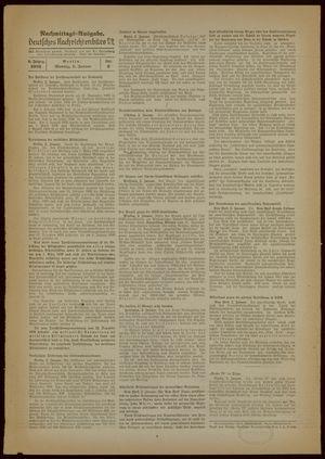 Deutsches Nachrichtenbüro vom 02.01.1939