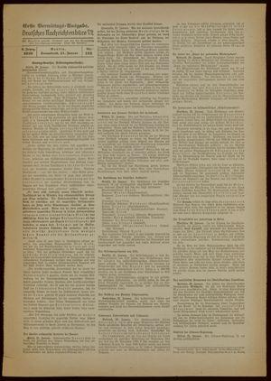 Deutsches Nachrichtenbüro vom 21.01.1939