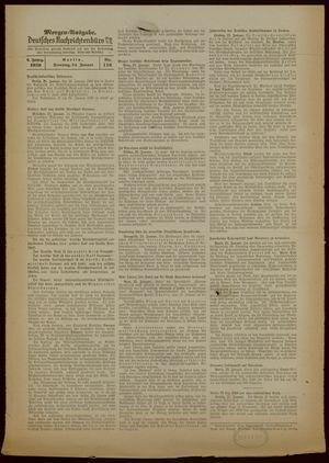 Deutsches Nachrichtenbüro vom 24.01.1939