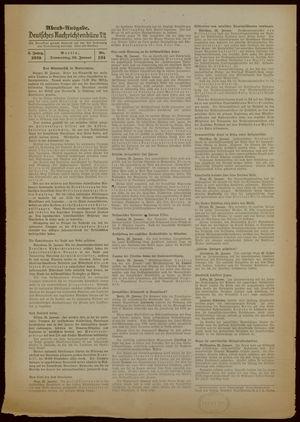 Deutsches Nachrichtenbüro on Jan 26, 1939