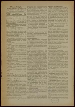 Deutsches Nachrichtenbüro vom 04.02.1939