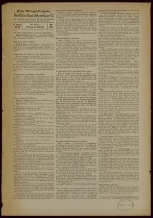 Deutsches Nachrichtenbüro vom 06.02.1939