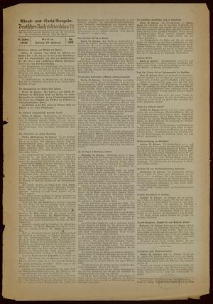 Deutsches Nachrichtenbüro vom 10.02.1939