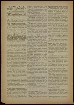 Deutsches Nachrichtenbüro vom 11.02.1939