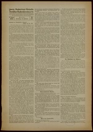 Deutsches Nachrichtenbüro vom 14.02.1939