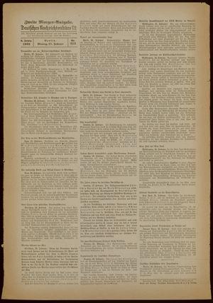 Deutsches Nachrichtenbüro vom 27.02.1939