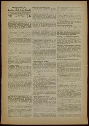 Deutsches Nachrichtenbüro vom 01.03.1939