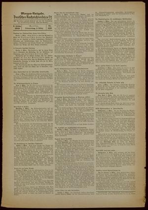 Deutsches Nachrichtenbüro vom 02.03.1939