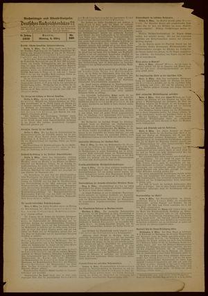 Deutsches Nachrichtenbüro vom 06.03.1939