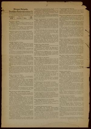 Deutsches Nachrichtenbüro on Mar 7, 1939