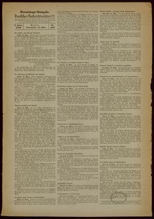 Deutsches Nachrichtenbüro vom 18.03.1939