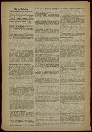 Deutsches Nachrichtenbüro vom 20.03.1939
