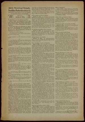 Deutsches Nachrichtenbüro vom 24.03.1939