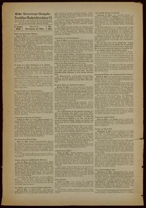 Deutsches Nachrichtenbüro on Mar 25, 1939