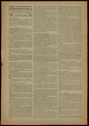 Deutsches Nachrichtenbüro vom 30.03.1939